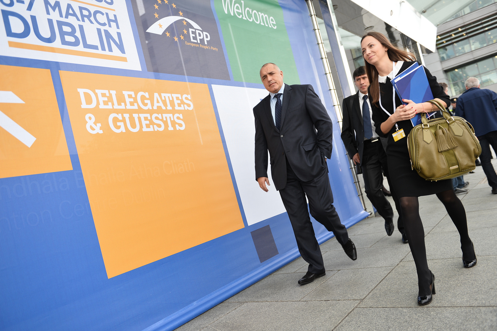 Delegates of the European People's Party at the electoral congress in Dublin, March 2014 [EPP]