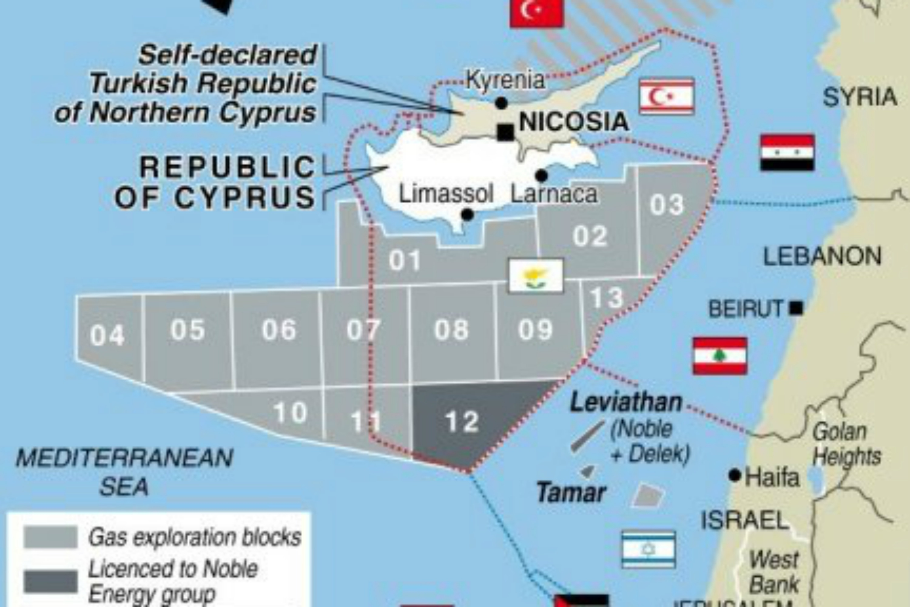 Cyprus Natural Gas Reserves