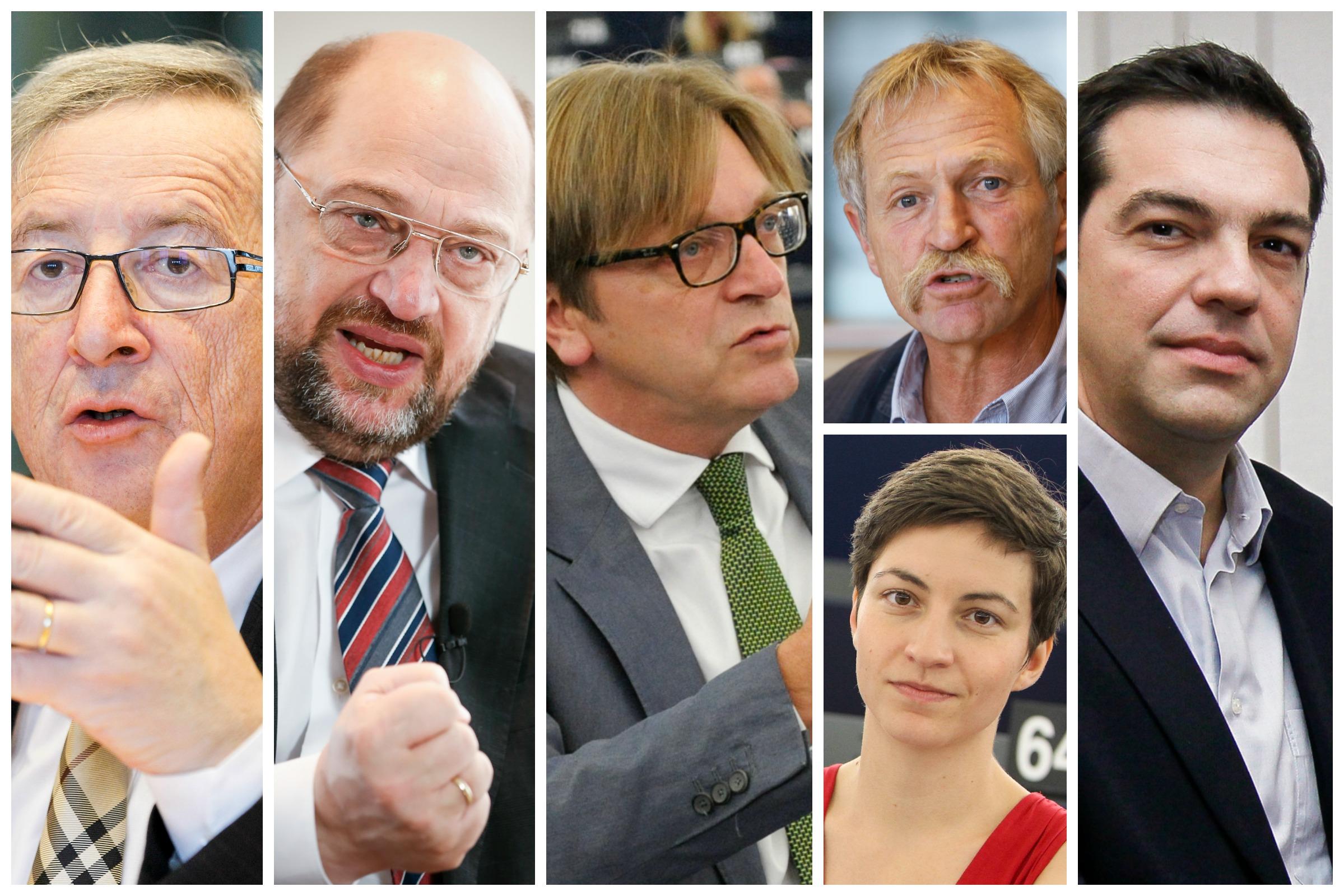 Europe's Spitzenkandidaten for the 2014 European elections [EURACTIV/European Parliament]