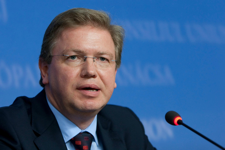 Štefan Füle. [The Council of the European Union]