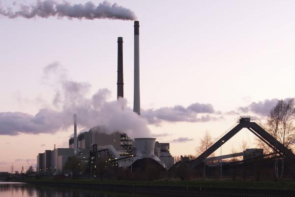Une centrale à charbon à Datteln en Allemagne