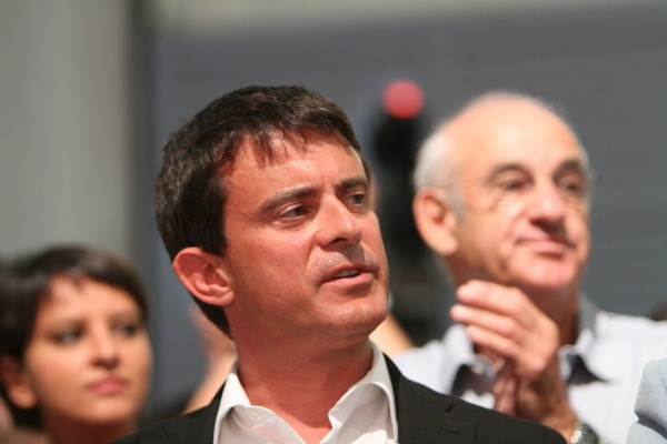 Manuel Valls à l'université d'été du Parti socialiste en 2012 - ©Mathieu Delmestre/PS