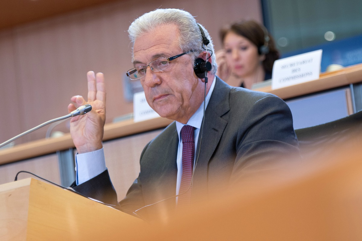 Hearings of candidate commissioner Dimitris Avramopoulos [European Parliament / Flickr]