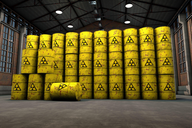 Déchets nucléaires  - Copyright: F.Schmidt/shutterstock