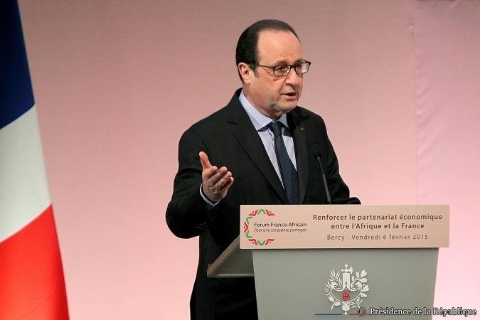 François Hollande au Forum Africa-France © Présidence de la République - C. Alix
