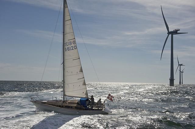 Le réseau énergétique en mer du Nord a le vent en poupe.