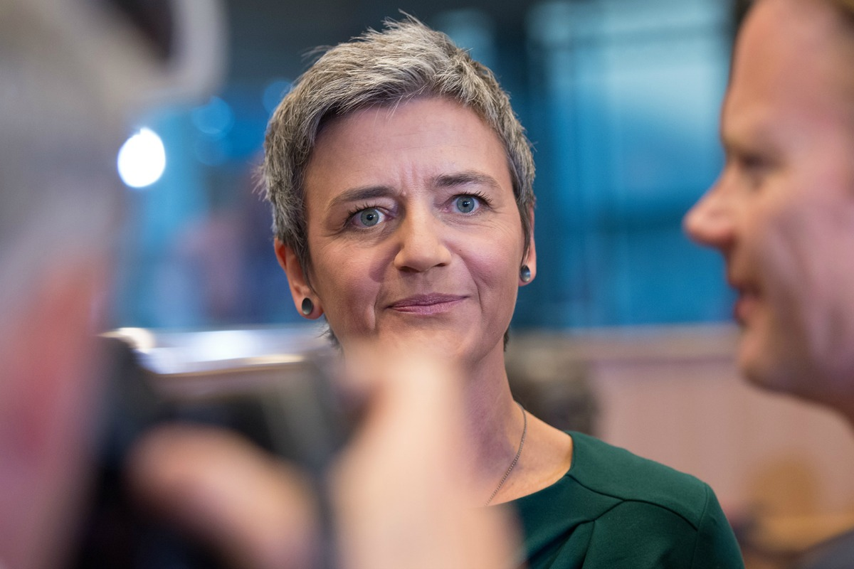 Margrethe Vestager at the Parliament hearing [European Parliament / Flickr]