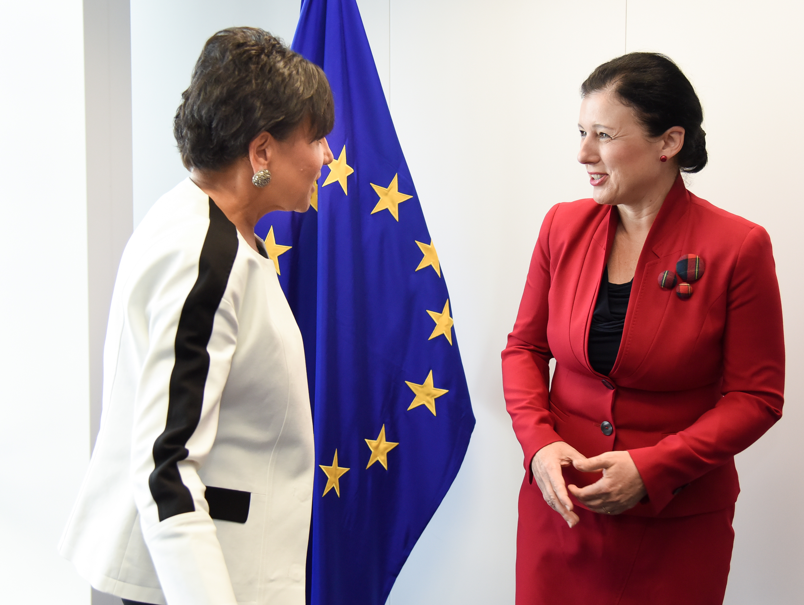 US Secretary of Commerce Penny Pritzker met with EU Justice Commissioner Vera Jourová on 23 July in Brussels