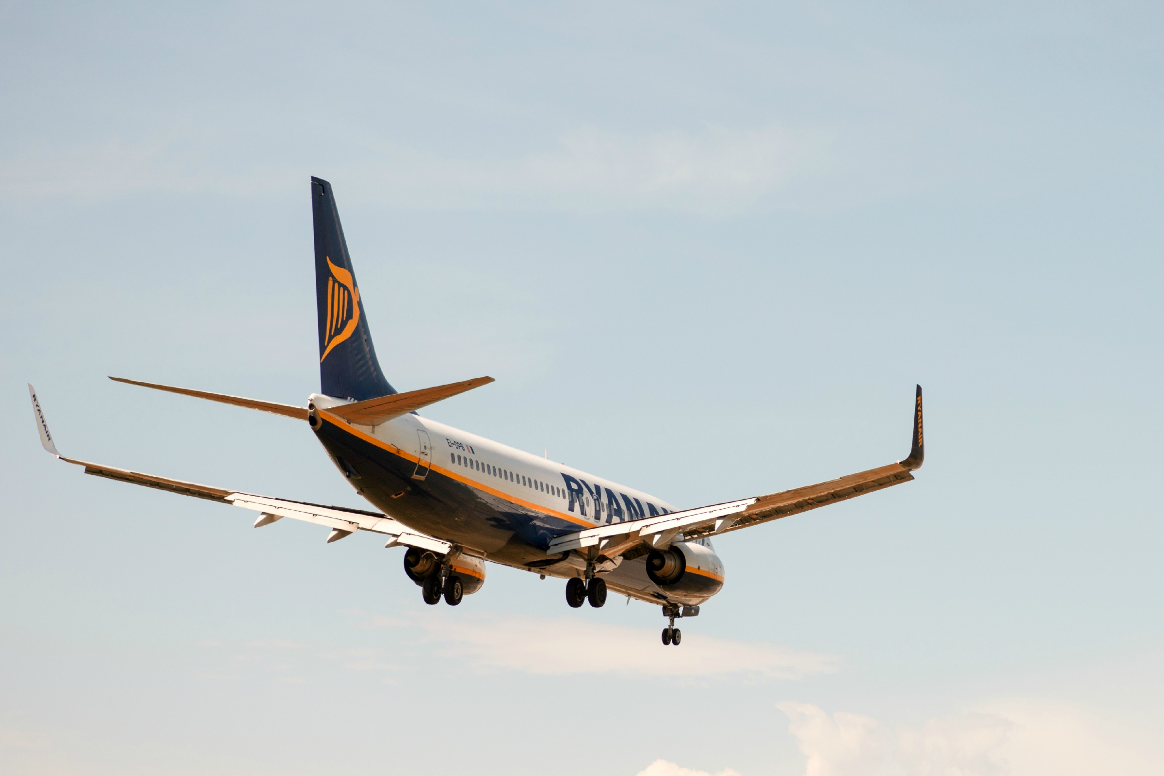 Vol de Ryanair - pisaphotography / Shutterstock.com