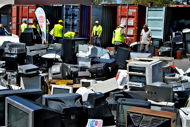 Only one third of e-waste is properly recycled in the EU