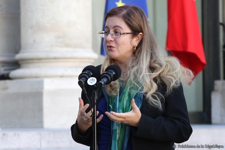 Héla Cheikhrouhou, directrice du Fonds vert pour le climat © Elysée