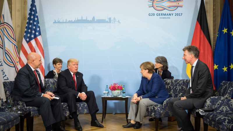 G20 Hambourg / Sommet sous haute tension